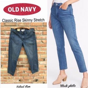 Old Navy // Classic Rise Skinny Stretch Denim